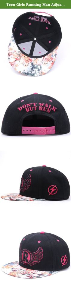 Teen Girls Running Man Adjustable Snapback 100% Cotton Twill Fabric. CN Famous Outdoor TV Show Running Man Official Caps Manufacturer. Features An Exclusive Design, A Cosy Color Match, A Top Grade Texture. 100% Cotton Twill Fabric and Very Fine 3D Embroidery!.