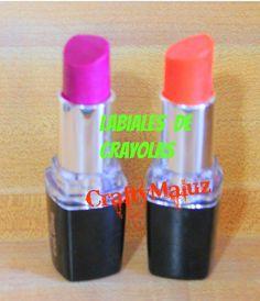 ♥DIY: LABIALES DE CRAYOLAS/ How to make Crayon Lipstick