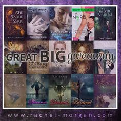 Mega _ So many books to win you cannot miss this one. FIY _its attached to aa Rachel Morgan Rachel Morgan, Forget Him, Faeries, Book Review, Creepy, Interview, Nerd, Fandoms, Author