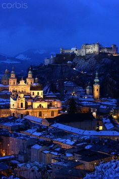 Salzburg, Austria.  Birthplace of Mozart, great shopping, and gorgeous scenery...what's not to love!