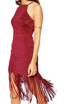 Beautiful fringe dress. Varius colors.