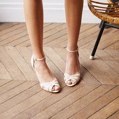 Petite Mendigote BARBADE Dragée 36 How To Dress For A Wedding, Wedding Dress, Peeps, Peep Toe, Sandals, Shoes, Happy, Fashion, Heeled Sandals