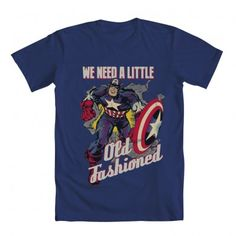 captain america we need a little old fashioned