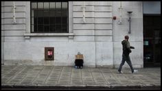 We walk past the homeless everyday. Jess Turver photography