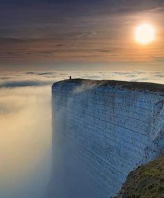 Beachy Head Cliff, South Coast of England
