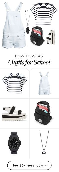 """""""School"""" by averie-asajar on Polyvore featuring Vanessa Bruno Athé, Superdry, Vince Camuto and STELLA McCARTNEY"""