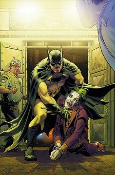 Batman vs Joker by Stephane Roux ouchhh