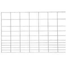 Feedlot Panel, Sheep/Goat, 16 ft. L x 48 in. H - Tractor