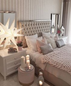 Unique exquisitely admirable modern french bedroom ideas to steal 31 – fugar Grey Home Decor, Home Decor Bedroom, Living Room Decor, French Bedroom Decor, Bedroom Sets, Dream Bedroom, Inspire Me Home Decor, Master Bedroom Design, Simple Bedroom Design