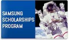 Samsung High School Student Scholarship Program. Five (5) awards available. Deadline May 15.