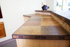 Modern Tiled Countertops Google Search Diy Kitchen Counters Tiles