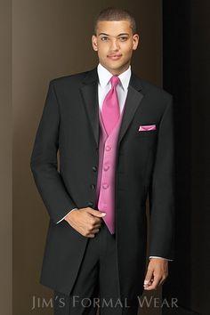 Andrew Fezza Savannah Black Tuxedo View on jimsformalwear.com, rent at Memories!