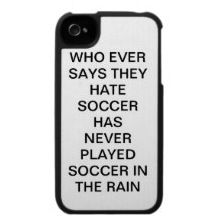 Soccer in the rain...amazing!