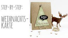 Step-by-Step | Tutorial: Weihnachtskarte nach dem Sketch vom 08.11.