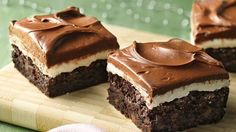 Turn a simple pan of brownies into a festive holiday treat with an easy peppermint filling and frosting—all gluten free!