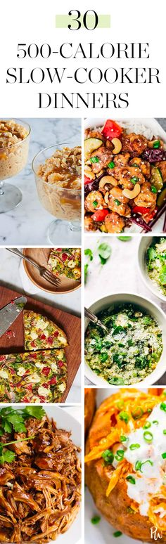 30 Slow-Cooker Recipes Under 500 Calories #purewow #healthy #dinner #easy #winter #slow cooker #recipe #food #cooking