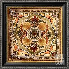 Italian Tile IV Art Print by Ruth Franks at Art.com