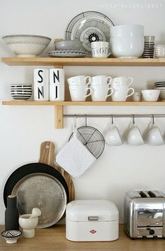 Scandinavian Kitchen Design Ideas For A Stylish Cooking Wooden Kitchen, New Kitchen, Kitchen Dining, Kitchen Decor, Kitchen Furniture, Decorating Kitchen, Furniture Storage, Wooden Furniture, Kitchen Stuff