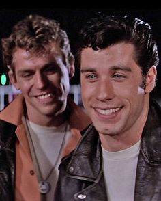 """When John Travolta was a babe... """"Go Grease lightening you're burnin off the quarter mile!!!"""" I love that movie"""