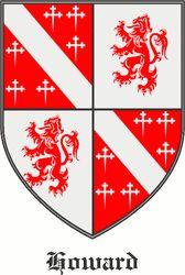 Howard family crest Ireland