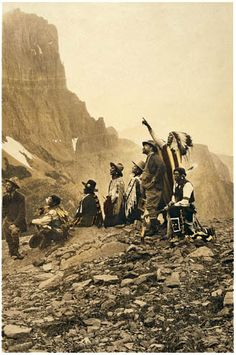 Photo of Edward Curtis - Famous for preserving the history of Native American tribes thru his photographic works which are in history books and museums today..