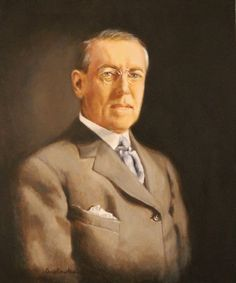 President Woodrow Wilson Is Shown Working At His DeskMay - Wiki us presidents