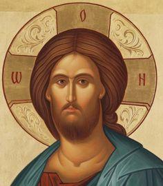 Religious Images, Religious Icons, Religious Art, Byzantine Art, Byzantine Icons, Jesus Face, Russian Icons, Spirited Art, Biblical Art