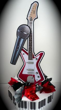 Guitar Centerpieces for Parties-what is new