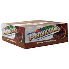 Promax Energy Bar Double Fudge Brownie  12  2.64 oz (75 g) bars [31.68 oz (900 g)] http://10healthyeatingtips.net/promax-energy-bar-double-fudge-brownie-12-2-64-oz-75-g-bars-31-68-oz-900-g/