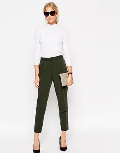 These trousers with your pink leopard, purple blouse, plain camis, denim shirt, printed Zara blouse plus block sandals or gold sliders