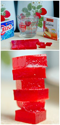Easy Jello Gummies Recipe for a yummy kids snack! | CraftyMorning.com