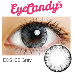 FREE SHIP | EOS ICE Grey Circle Lens Colored Contacts                                                                                                                                                     More