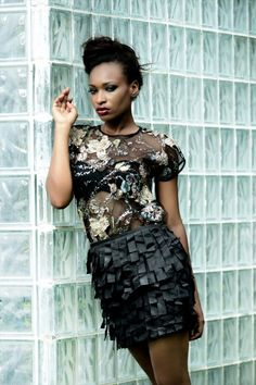 """Swan Addiction"" – The Spring/Summer 2012-2013 Collection Lookbook by Nigerian Design Label, Moofa"
