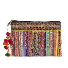 bolso colorido de mano