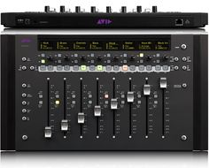 Avid Artist Mix DAW Control Surface for Pro Tools with Eight Touch-Sensitive Faders Digital Audio Workstation, Dj Booth, Recorder Music, Audio In, Intel Processors, Surface, Artist, Studio Equipment, Tools