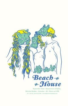 beach house music gig posters | Beach House Poster #WOWmusic