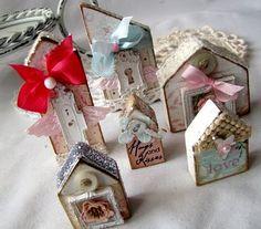 iralamija: wooden houses - I love her style!