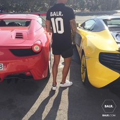 BALR. Iconic Shirt + Swim Shorts