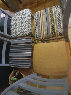Dining Chairs, Throw Pillows, House Styles, Bed, Home, Toss Pillows, Cushions, Stream Bed, Ad Home