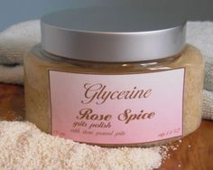 Handmade scrub by The Glycerine Shop in Athens, Georgia's.