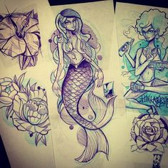Sketching #tattoo #tattooartist #tattooinlines #tattooincolour #ink #ideas…