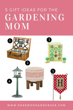 5 Gift Ideas for The Gardening Mom