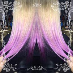 Ефектът е постигнат с шампоан Lakme Ultra Violet