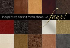 """Tips and Tricks for sewing with """"Leather"""""""
