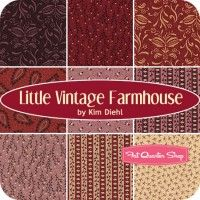 Little Vintage Farmhouse Fat Quarter BundleKim Diehl for Henry Glass Fabrics