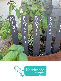 Herb Labels, Garden Labels, Herb Garden, Garden Art, Home And Garden, Garden Plant Markers, Garden Plants, Unique Garden, Garden Signs