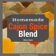 Make Your Own Cajun Seasoning Homesteading  - The Homestead Survival .Com