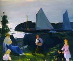 George Bellows - Evening Group