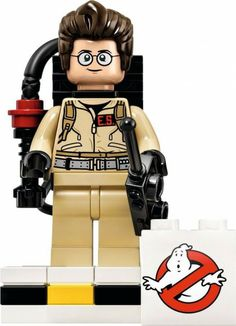 Lego's reaction to the death of Harold Ramis. R.I.P.