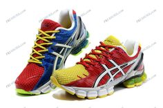 Asics Gel Kinsei 4 Red/Yellow Mens Athletic Running Shoes shoe shop Regular Price: $190.00 Special Price $85.69 Free Shipping with DHL or EMS(about 5-9 days to be your door).  Buy Shoes Get Socks Free. Asics Running Shoes, Best Running Shoes, Asics Shoes, Asics Netball Trainers, Asics Gel Kinsei, Red White Blue, Yellow, Lit Shoes, Court Shoes